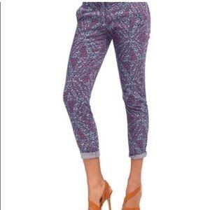 💜CAbi Palm Beach Crop Jeans Size 8💜